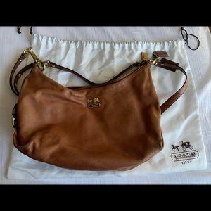COACH Cognac Leather Crossbody bag